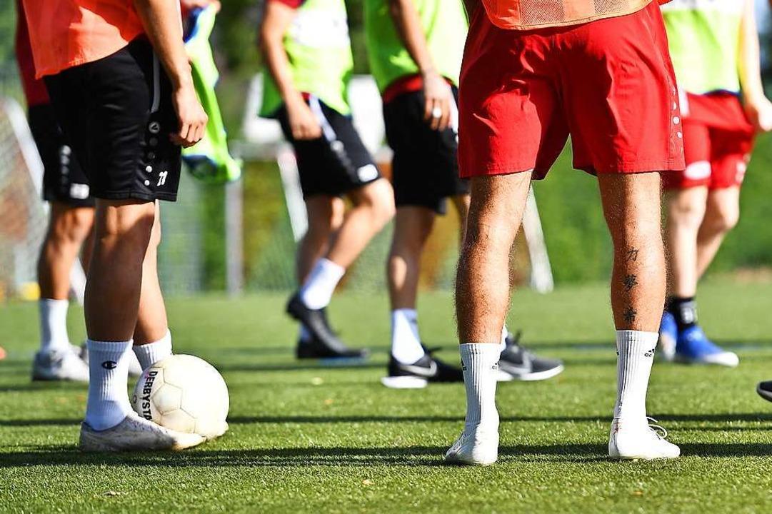 An Training ist bei den Regionalliga-F...t bis zum 29. September in Quarantäne.  | Foto: Achim Keller