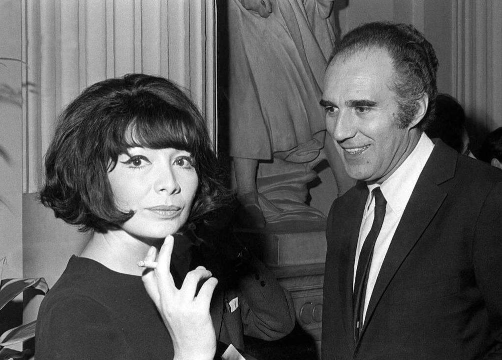 Juliette Gréco und Michel Piccoli im März 1967  | Foto: STAFF (AFP)