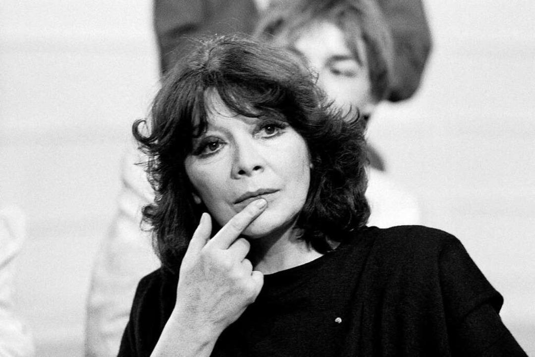Juliette Gréco im März1985  | Foto: GEORGES BENDRIHEM (AFP)