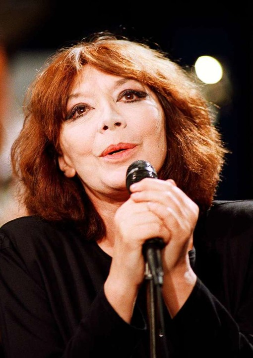 Juliette Gréco im Mai 1989  | Foto: JEAN-PIERRE MULLER (AFP)