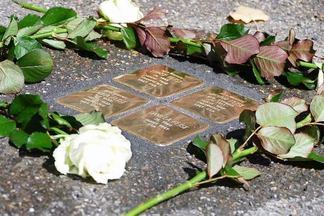 Weitere Stolpersteine in Lahr erinnern an Opfer des Nationalsozialismus