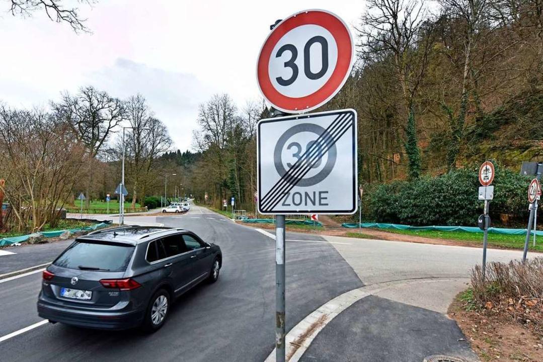 Geschwindigkeitsbegrenzung im Stadtteil Waldsee  | Foto: Michael Bamberger