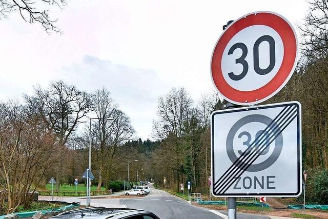Verwirrende Tempo-30-Zonen: 8000 Autos in einer Straße geblitzt