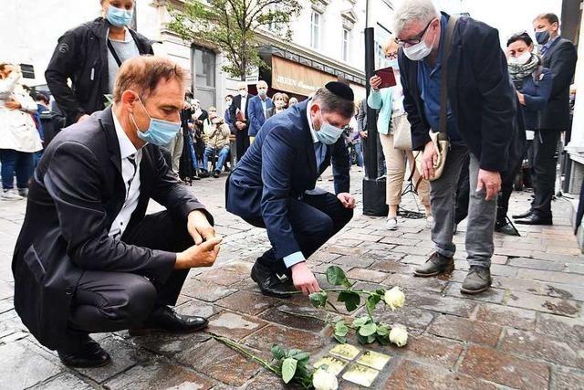 Stolpersteine in Lörrach erinnern an Opfer des Nationalsozialismus