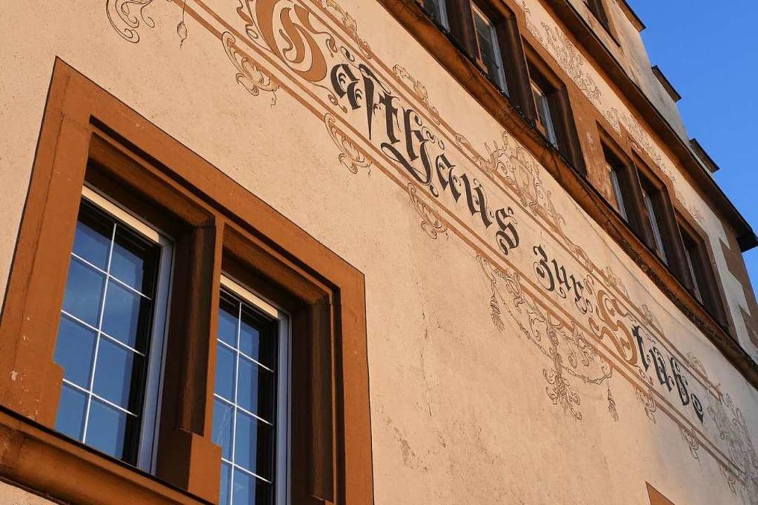 Wird die Stube künftig Rathaus oder bl...tscheiden in Pfaffenweiler die Bürger.  | Foto: Jannik Jürgens