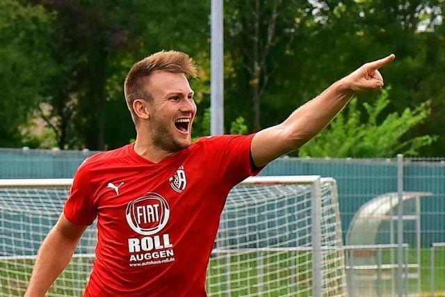 Nils Mayer hat beim FC Auggen die Erwartungen als Bischoff-Nachfolger bisher erfüllt