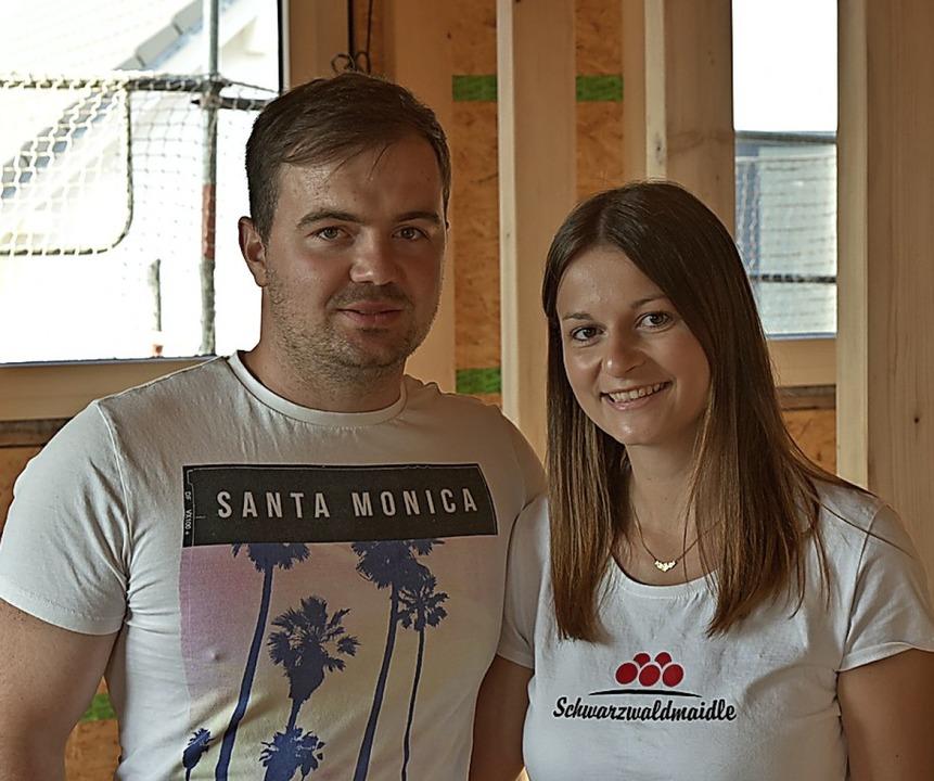 Mario Herr und Franziska Haas  | Foto: Benedikt Sommer