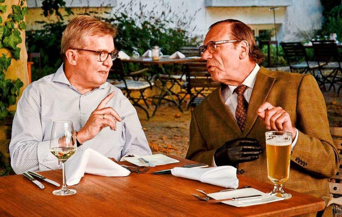 Gastronom Heinrich Mack vom Hotel Alte...owski, sind seit 25 Jahren befreundet.  | Foto: Veranstalter