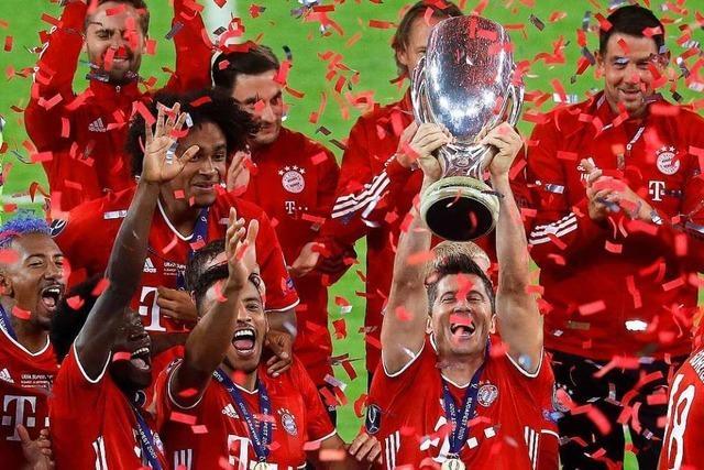Der FC Bayern München erringt auch den Supercup
