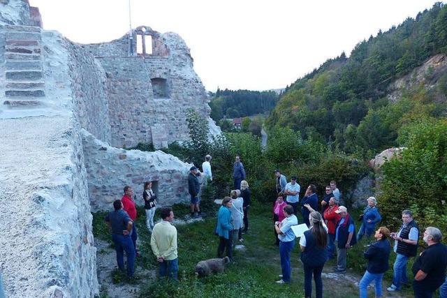 Die Ruine Diersburg ist restauriert