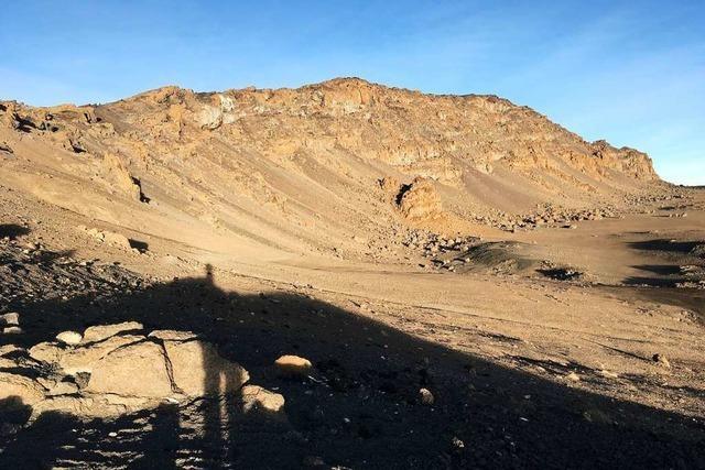 VHS-Rektorin Eva von Rekowski hat schon den Kilimandscharo bestiegen