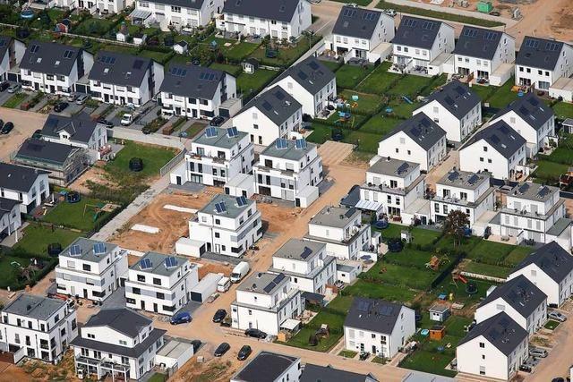 Gebaute Monotonie: In Deutschlands Neubaugebieten dominieren Quader mit Flachdach