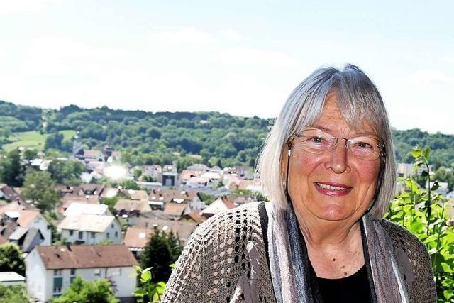 Hebelbund-Vizepräsidentin Inge Hemberger ist Hebel-Fan seit der Kindheit