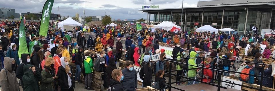 Liveticker: Fridays for Future demonstriert in Freiburg – unter Corona-Bedingungen