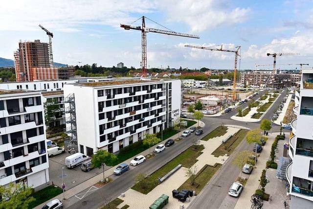 Bisher sind 700 Wohnungen auf dem Güterbahnhofareal bezogen