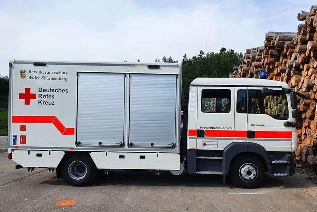DRK Grenzach-Wyhlen sucht eine Garage für dieses Fahrzeug