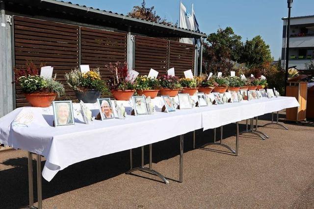 Das Pflegeheim in Neuried-Altenheim erinnert in einer Gedenkstunde an zwölf Covid-19-Opfer