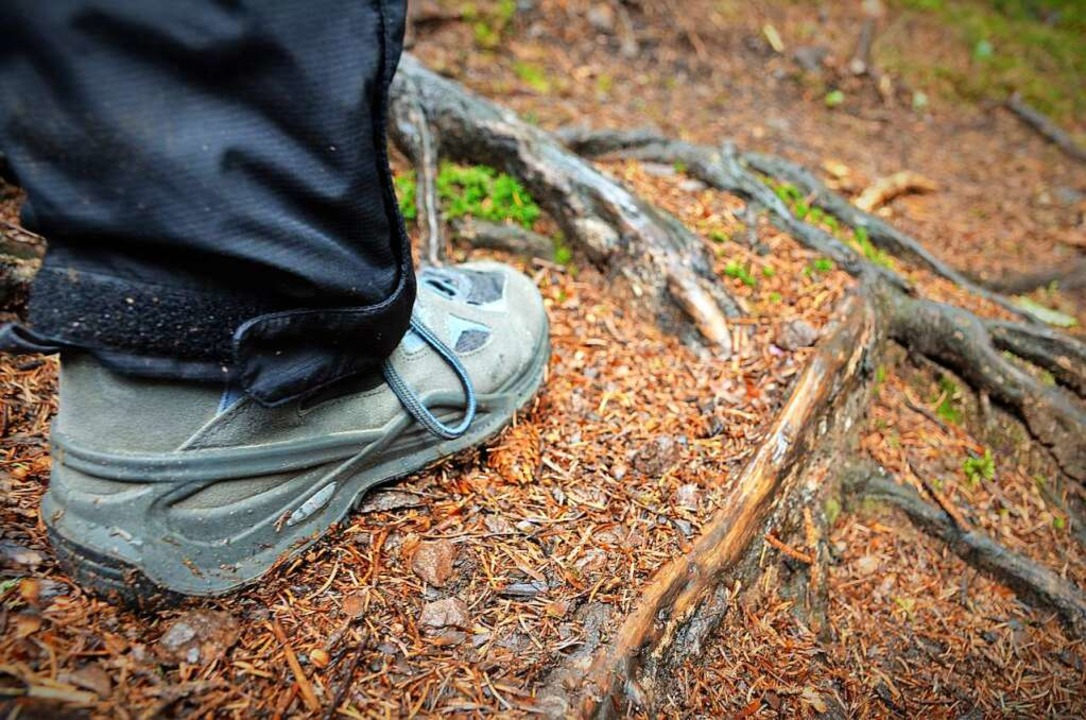 Auch bei den meisten Halbtagestouren d...e sollte man festes Schuhwerk tragen.   | Foto: Kathrin Blum