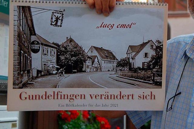 Heimatverein erstellt einen Kalender mit historischen Bildern von Gundelfingen