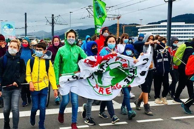 Fridays for Future setzt bei schwierigen Bedingungen ein Zeichen fürs Klima