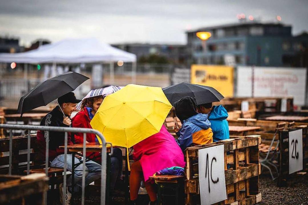 Schlechtes Wetter und ein Unfall: Das ...estival findet am Freitag nicht statt.    Foto: Janos Ruf
