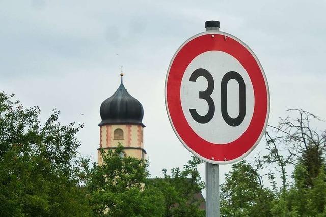 Tempo 30 gilt in Ehrenkirchen ab Dezember fast im ganzen Ort