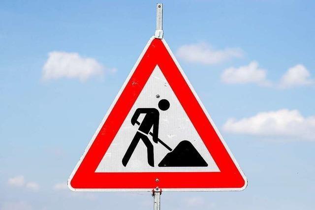 Die Südtangente in Müllheim wird ab 7. Oktober saniert