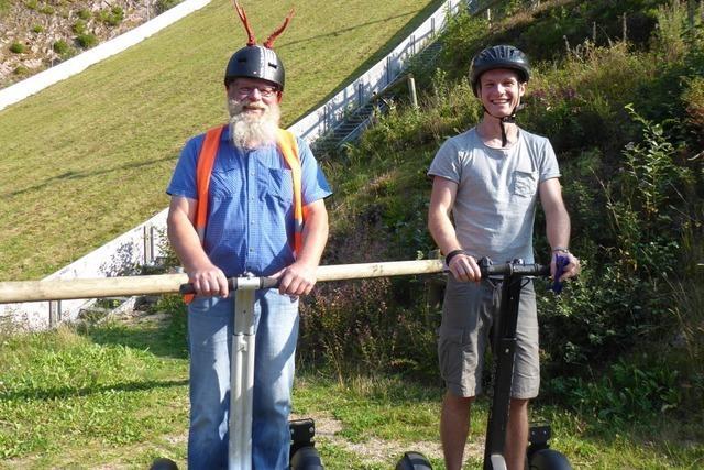 Selbstversuch: Mit dem Segway im Schwarzwald – und auf der Rodelbahn