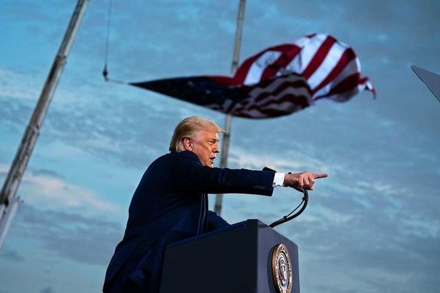 Donald Trumps Aussagen über die Präsidentenwahl können einem Angst machen