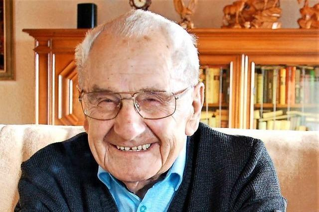 Der frühere Ortsvorsteher Albert Moritz ist gesorben