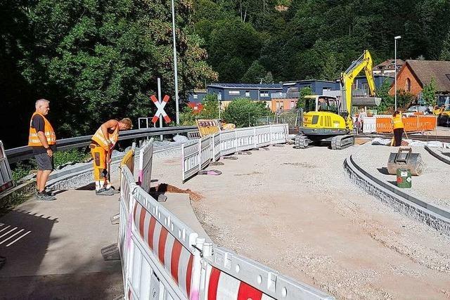 Fotos: So geht die Sanierung der Elztalbahn voran