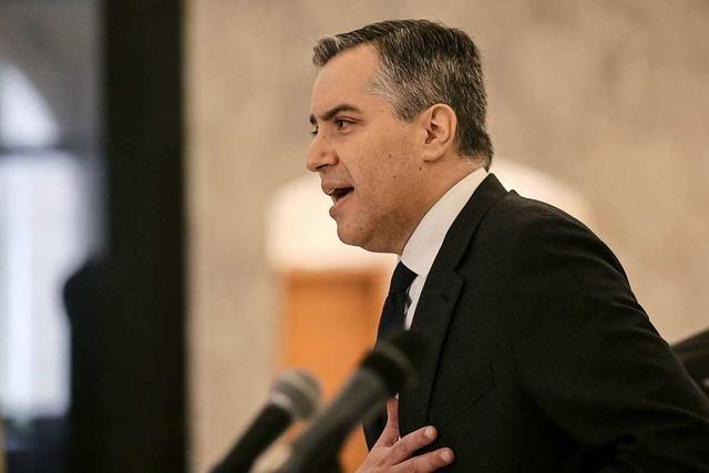Libanons designierter Premier Adib scheitert mit Regierungsbildung
