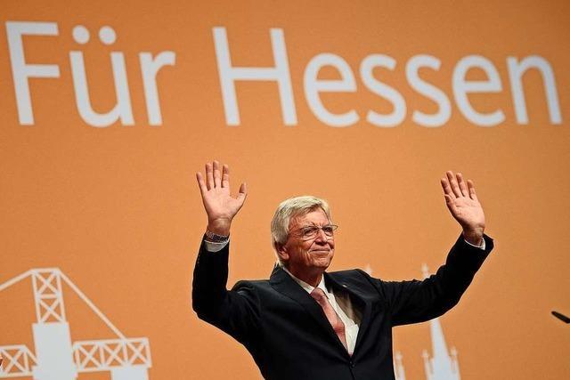 Bouffier als hessischer CDU-Landesparteichef wiedergewählt