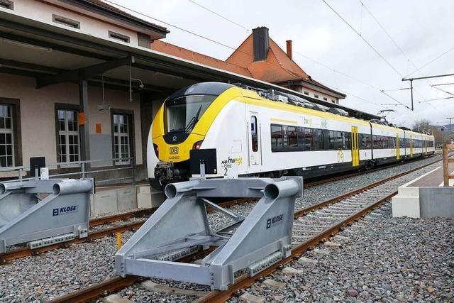 Bahnverbindug zwischen Colmar und Freiburg könnte in diesem Jahrzehnt kommen