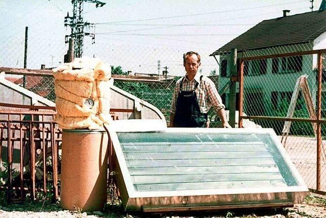 Trauer um Solartechnik-Pionier und Umweltaktivist Werner Mildebrath