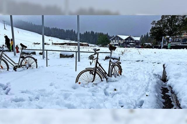 Erster winterlicher Anblick