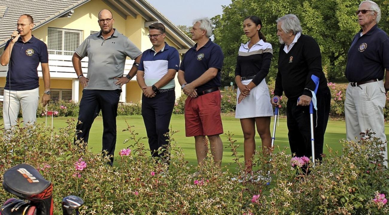 Das Benefiz-Golfturnier wurde auf dem Golfplatz in Bamlach ausgetragen.  | Foto: Veranstalter