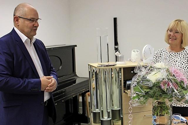 Christel Deboben an der Spitze des Fördervereins