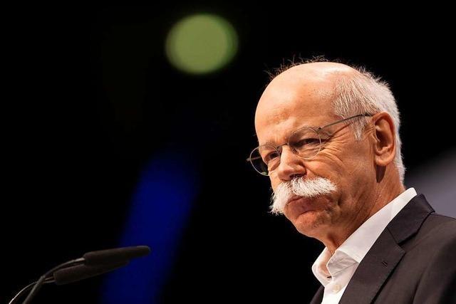 Kein Comeback für Dieter Zetsche bei Daimler