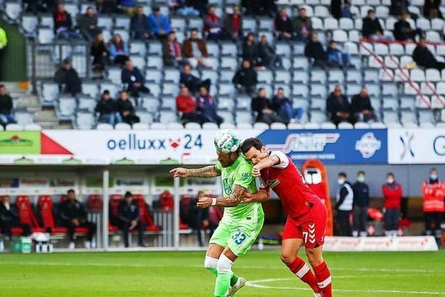 3.200 jubeln dem SC Freiburg im ersten Heimspiel der Saison zu
