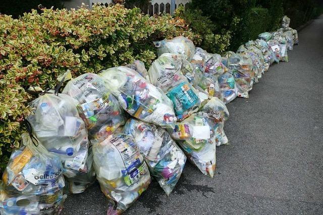 Stadt Rheinfelden bittet um mehr Müll-Disziplin