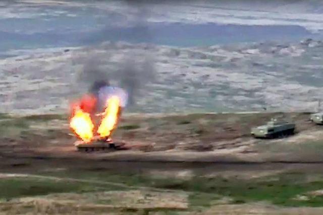 In Berg-Karabach droht Krieg zwischen Armenien und Aserbaidschan