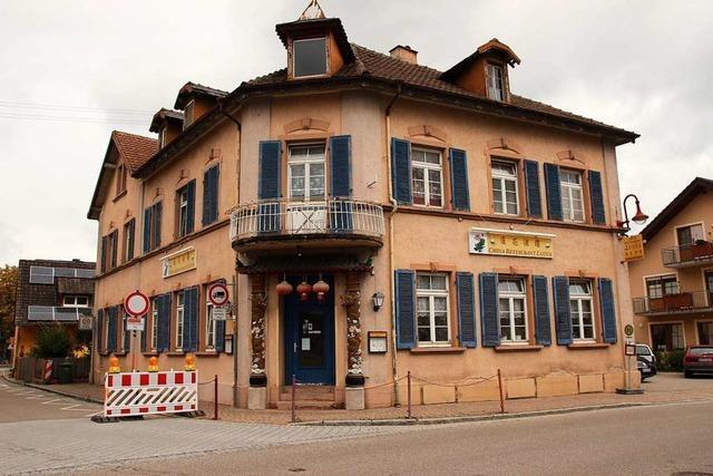 Gottenheim kauft Gebäude des Chinarestaurants Lotus, um es sanieren zu lassen