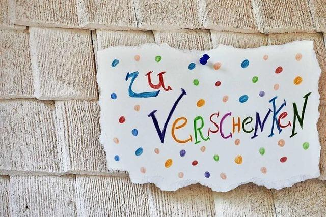 In St. Märgen gibt es am 4. Oktober den ersten Verschenketag
