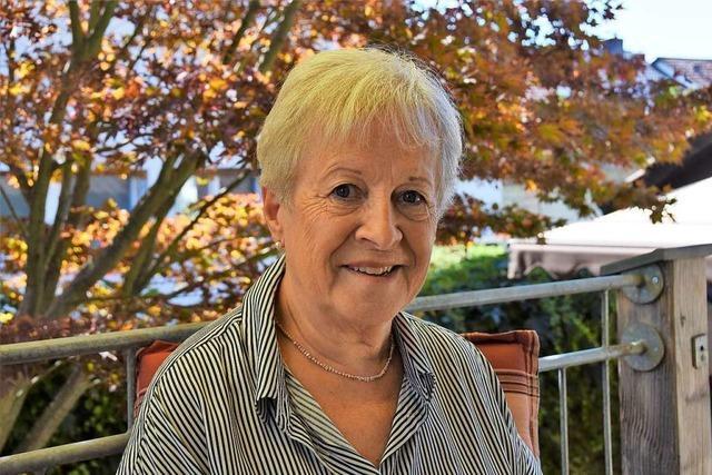 Brigitte Breisacher aus Gundelfingen hat 75 Mal Blut gespendet
