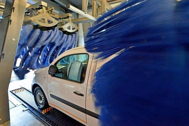 Tankanlage in Freiburg-Haid will Deutschlands erstes energieautarkes Tankzentrum sein