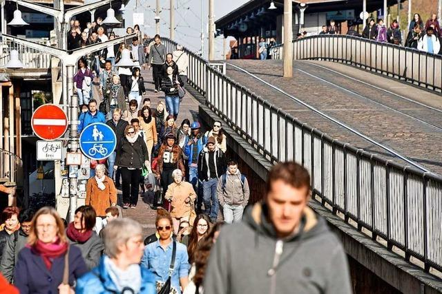 Zur Erinnerung: Busse und Bahnen stehen am Dienstag in Freiburg still