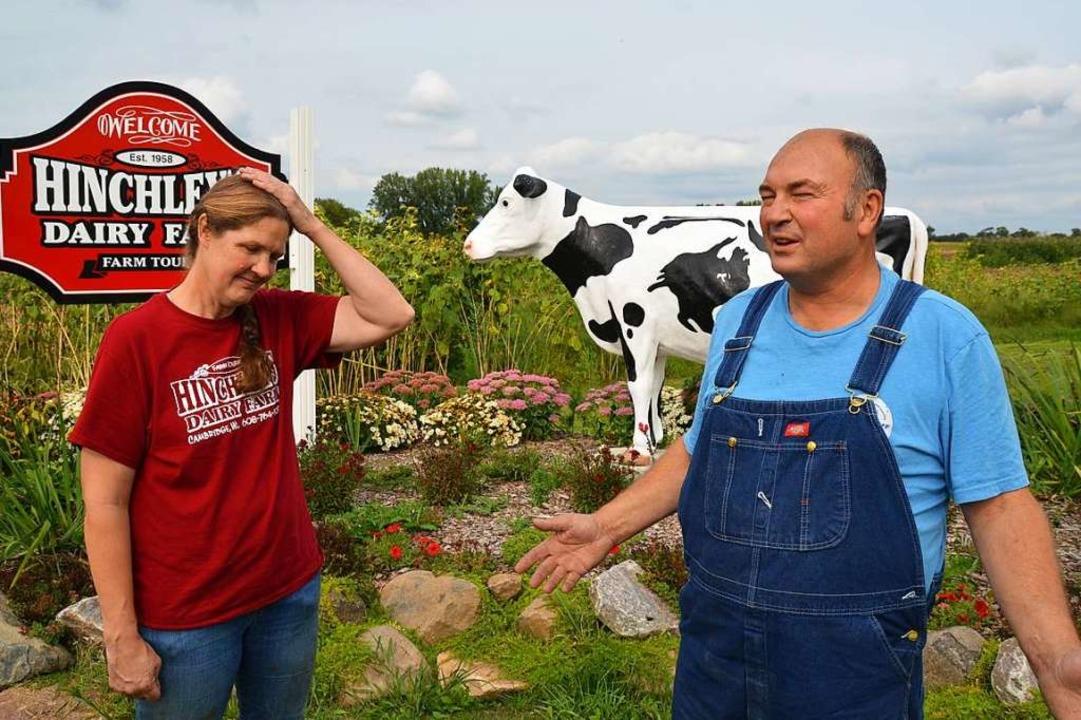 Machten gute Geschäfte mit China: Tina... läuft der Soja-Export nicht mehr gut.  | Foto: Frank Herrmann