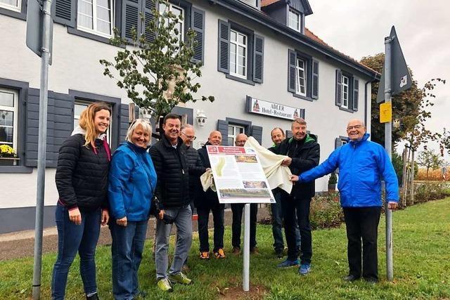 Weinradweg durch Bad Krozingen eingeweiht