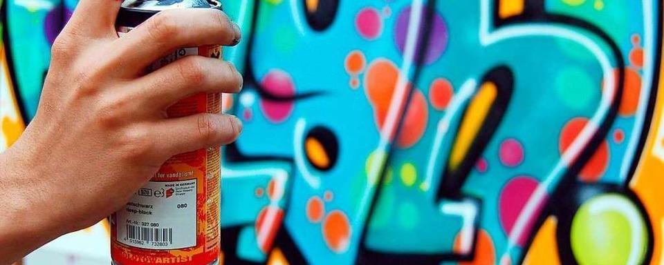 Freiburger Polizei nimmt vier junge Graffiti-Sprayer fest
